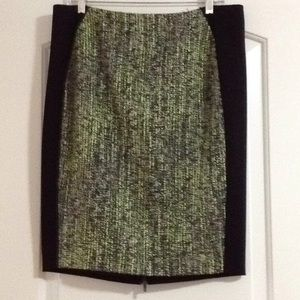 Elie Tahari Margarita Multi color pencil skirt